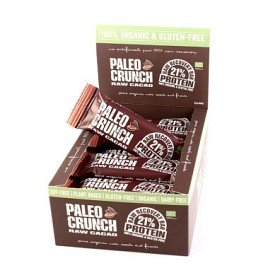 Bild på Paleo Crunch Raw Recovery Bar Dark Cacao 12 st