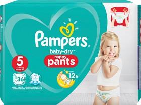 Bild på Pampers Baby-Dry Nappy Pants S5 12-17 kg 36 st