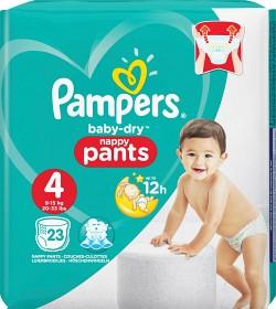 Bild på Pampers Baby-Dry Nappy Pants S4 9-15kg 23 st
