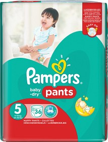 Bild på Pampers Baby-Dry Pants S5 11-18 kg 36 st