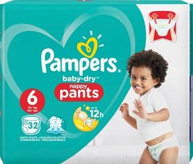 Bild på Pampers Baby-Dry Nappy Pants S6 15+kg 32 st