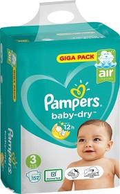 Bild på Pampers Baby-Dry S3 6-10 kg 152 st