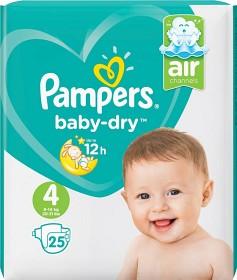 Bild på Pampers Baby-Dry S4 9-14kg 25 st