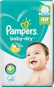 Bild på Pampers Baby-Dry S4+ 45 st
