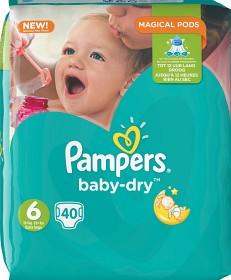 Bild på Pampers Baby-Dry S6 15+ kg 40 st