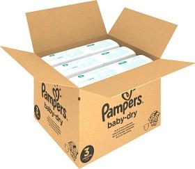 Bild på Pampers Baby-Dry Size 3 månadsbox