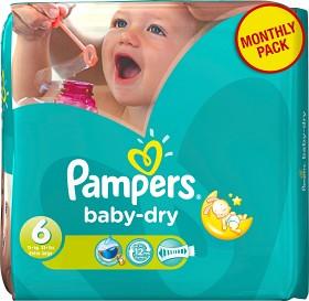 Bild på Pampers Baby-Dry Size 6 månadsbox