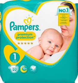 Bild på Pampers New Baby S1 2-5kg 22 st