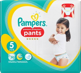 Bild på Pampers Premium Protection Pants S5 12-17 kg 30 st
