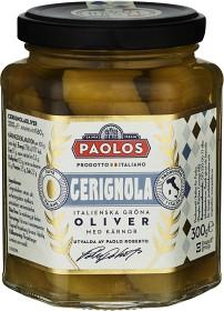 Bild på Paolos Cerignola Oliver med Kärnor 300 g