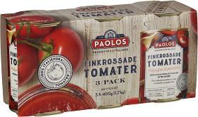 Bild på Paolos Finkrossade Tomater 3x400 g