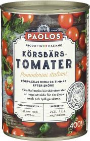 Bild på Paolos Körsbärstomater 400 g