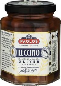Bild på Paolos Leccino Oliver med Kärnor 300 g