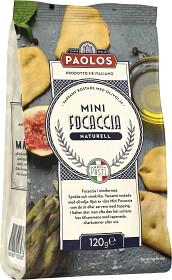 Bild på Paolos Mini Focaccia Naturell 120 g