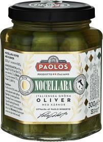 Bild på Paolos Nocellara Oliver med Kärnor 300 g