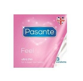 Bild på Pasante kondom Feel 3-pack