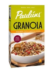 Bild på Pauluns Granola Mullbär & Kardemumma 450 g