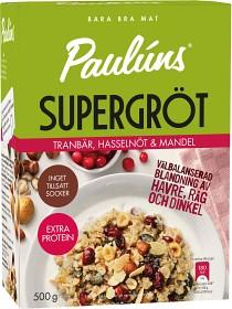 Bild på Pauluns Supergröt Tranbär, Hasselnöt & Mandel 500 g