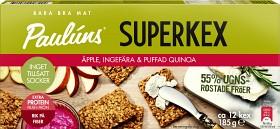 Bild på Pauluns Superkex Äpple, Ingefära & Quinoa 185 g