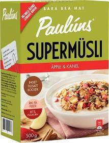 Bild på Pauluns Supermüsli Äpple & Kanel 420 g