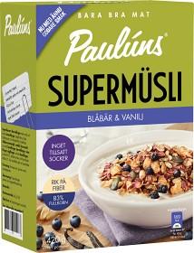 Bild på Pauluns Supermüsli Blåbär & Vanilj 420 g