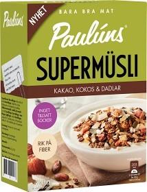 Bild på Pauluns Supermüsli Kakao, Kokos & Dadlar 420 g