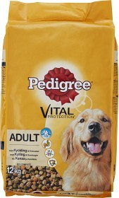 Bild på Pedigree Adult Vital Protection Torrfoder Kyckling 12 kg