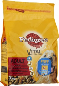 Bild på Pedigree Adult Vital Protection Torrfoder Oxkött 3 kg