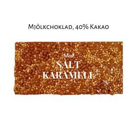 Bild på Pralinhuset 40% Mjölkchoklad Salt Karamell 100 g