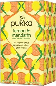 Bild på Pukka Lemon & Mandarin 20 tepåsar