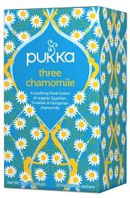 Bild på Pukka Three Chamomile 20 tepåsar