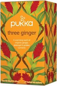 Bild på Pukka Three Ginger 20 tepåsar