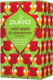 Bild på Pukka Wild Apple & Cinnamon 20 tepåsar