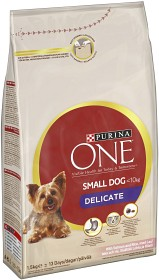 Bild på Purina One Small Dog Delicate Lax & Ris 1.5 kg
