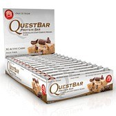 Bild på Questbar Chocolate Chip Cookie Dough 12 st