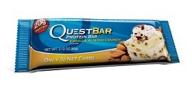 Bild på Questbar Vanilla Almond Crunch 60 g