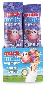 Bild på Quick Milk Magic Sipper Skogsbär 5 p
