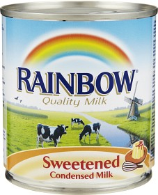 Bild på Rainbow Sötad Kondenserad Mjölk 397 g