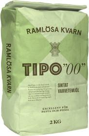 """Bild på Ramlösa Kvarn Tipo """"00"""" Vetemjöl 2 kg"""