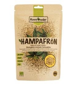 Bild på Rawpowder Skalade Hampafrön 300 g