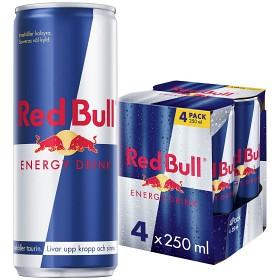 Bild på Red Bull Energy Drink 4x25 cl inkl. Pant