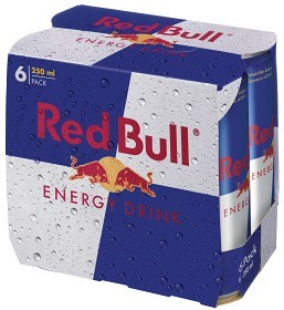Bild på Red Bull Energy Drink 6x25 cl inkl. Pant
