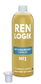 Bild på Ren Logik Vit & Kulörtvätt Lindblom 750 ml