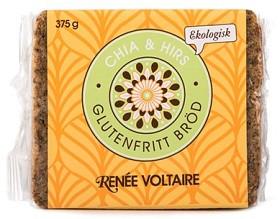 Bild på Renée Voltaire Glutenfritt bröd Chia & Hirs 375 g
