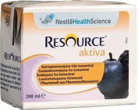 Bild på Resource Aktiva Katrinplommonjuice 200 ml