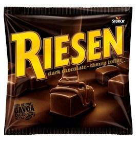 Bild på Riesen Dark Chocolate Toffee 150 g