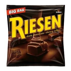 Bild på Riesen Dark Chocolate Toffee 250 g