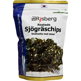 Bild på Risberg Sjögräschips med Sesamsmak 50g