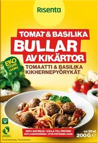 Bild på Risenta Bullar av Kikärtor Tomat & Basilika 200 g