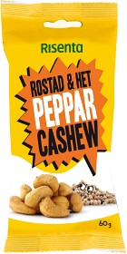 Bild på Risenta Cashewnötter Peppar 60 g